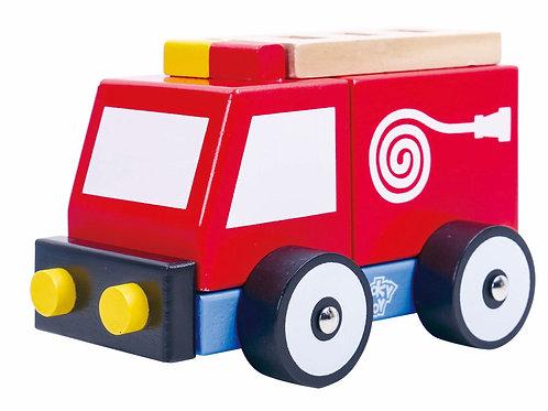 Auto de bomberos Encastre