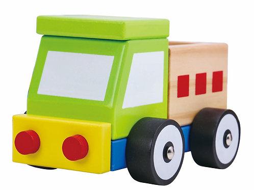 Camión de arrastre y encastre