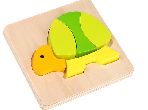 Puzzle  Diseño De Tortuga