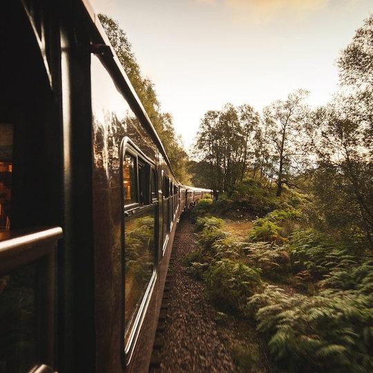 BELMOND ROYAL SCOTSMAN TRAIN JOURNEY: GRAND TOUR OF GREAT BRITAIN