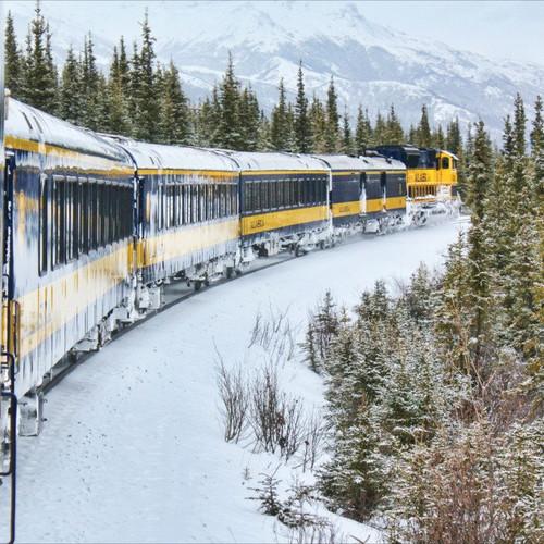AURORA TRAIN TRAVEL IN WINTER