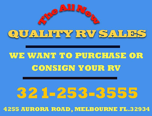 LET US SELL YOUR RV