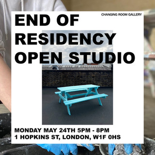 Changing Room Gallery, End of Residency Open Studio