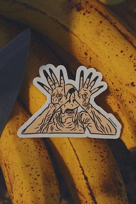 Pale Man Sticker