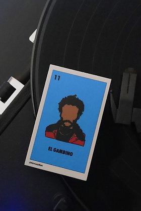 El Gambino Lotería Sticker