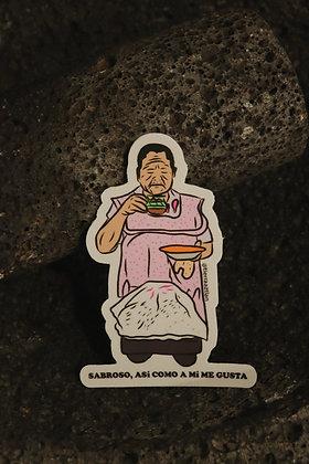 A su cocina Sticker