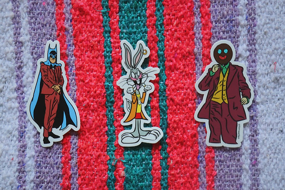 Bundle Pack (Batman, Bugs, Joker)