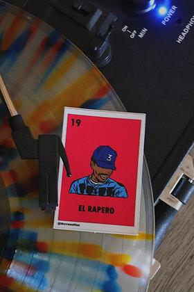 El Rapero Lotería Sticker