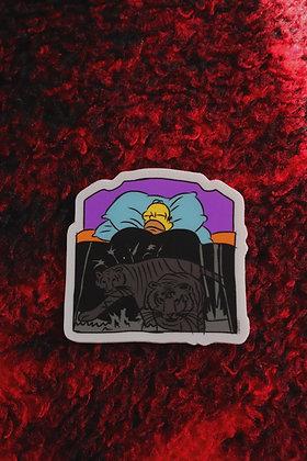 La Pulga Blanket Sticker
