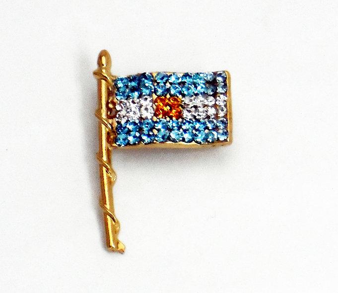 Bandera Argentina chica