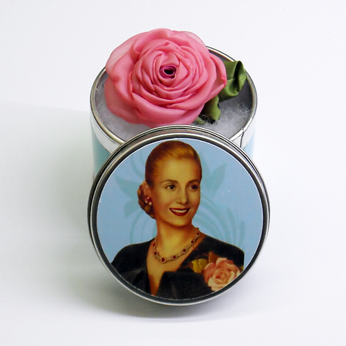 Flor con aroma y caja