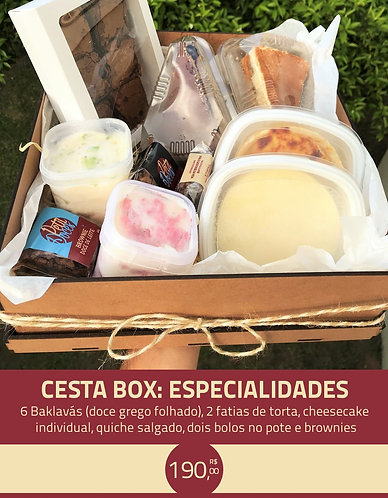 CESTA BOX: ESPECIALIDADES