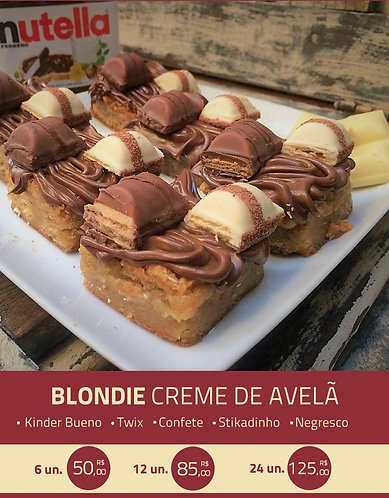 Blondie Nutella