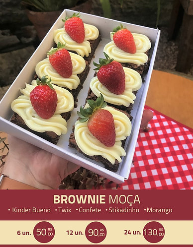 Brownie Moça