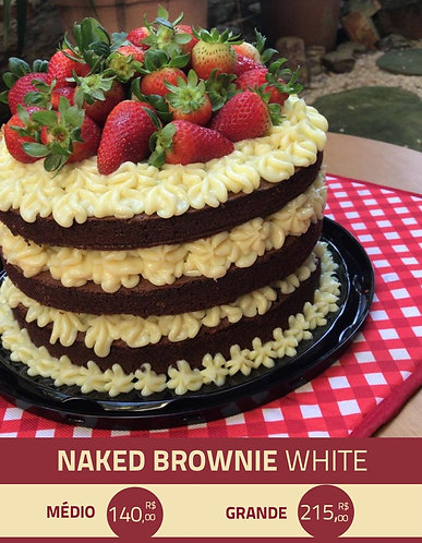 Naked Brownie White