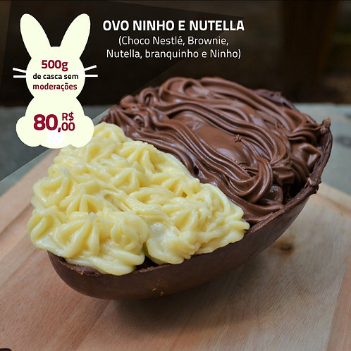Ovo Ninho e Nutella