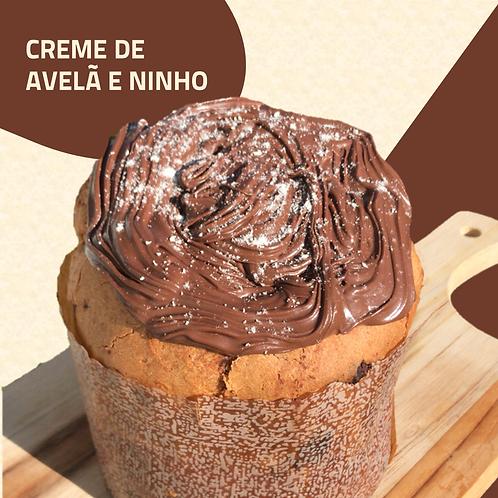 Chocotone Creme de Avelã e Ninho