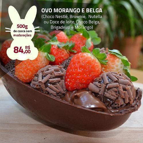 Ovo Morango e Belga