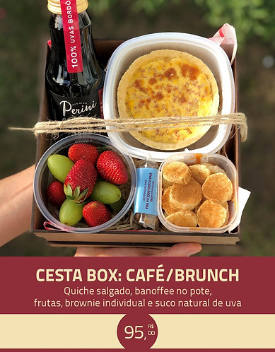 CESTA BOX: CAFÉ / BRUNCH
