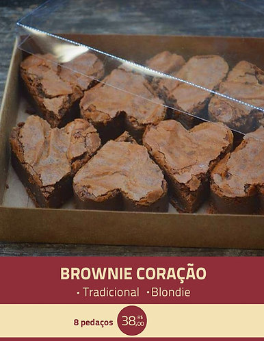 Brownie coração