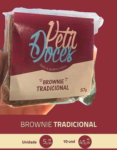Brownie tradicional