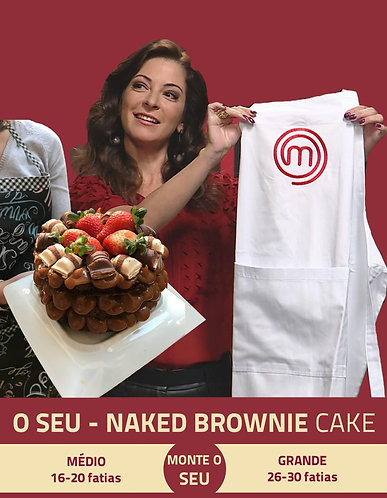 O SEU - Naked Brownie Cake
