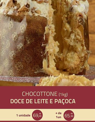Chocottone Doce de Leite e Paçoca