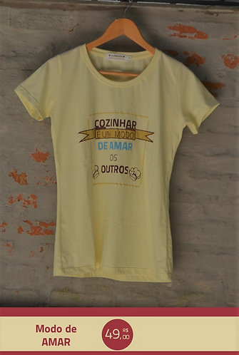 Camiseta modo de amar