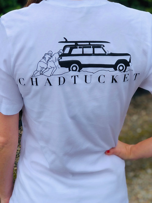 White Chadtucket ACK surf tee