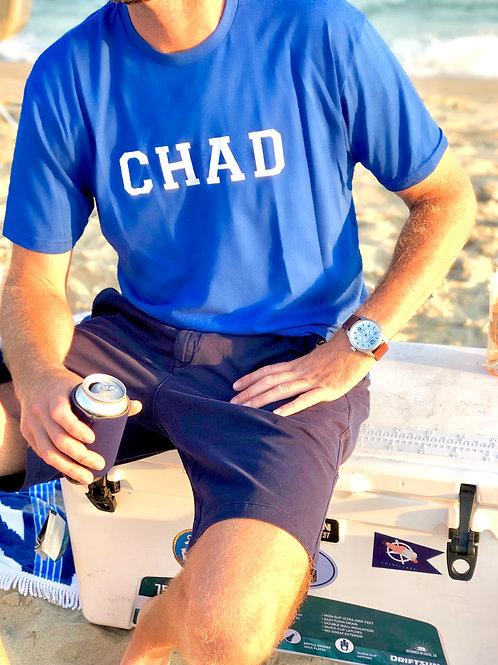 CHAD T-Shirt Heather Royal Blue