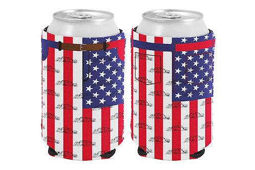 America Pants Koozie (Pack of 2)