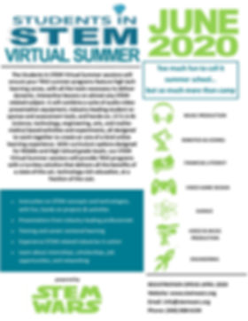 Students in STEM Virtual Summer Flyer.jp