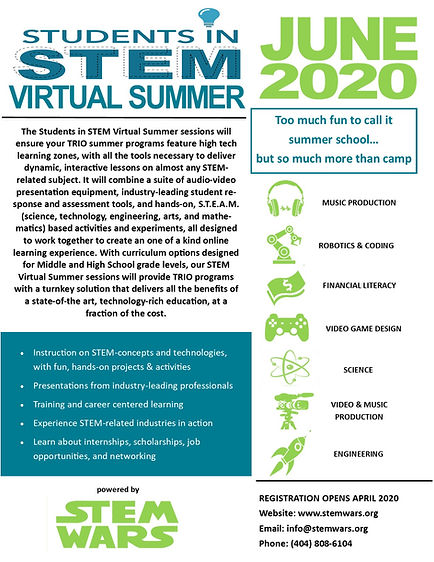 Students in STEM Virtual Summer Flyer.jp