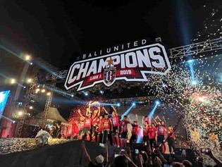 Bali United Champions Ceremony Liga 1 (C