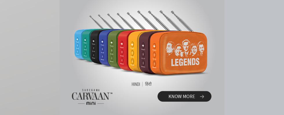 saregama carvaan mini hindi