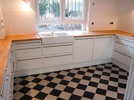 Holzplusform Küche
