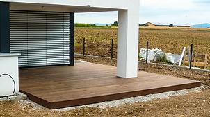 Holzplusform Außenbereich