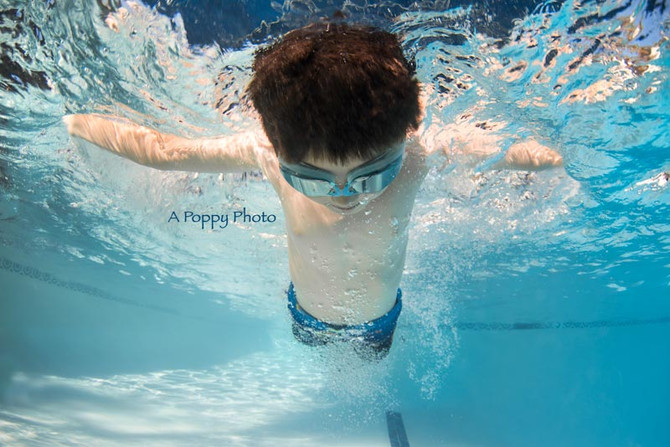 Underwater Mini Session at Sherman Swim School