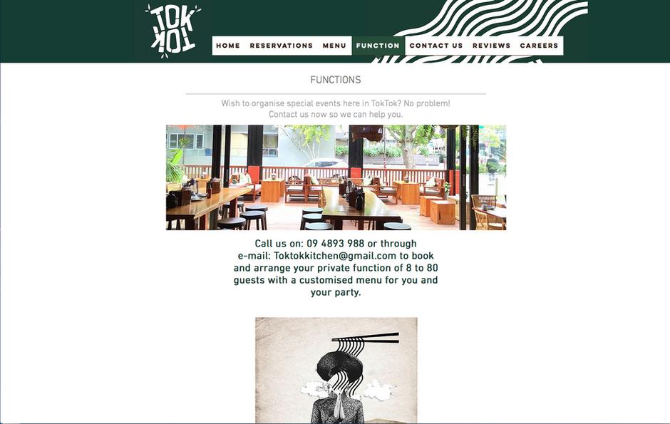 TokTok's website