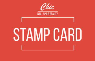 Chic Nail stamp card