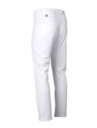 Majestic White Baseball Pants - Adult