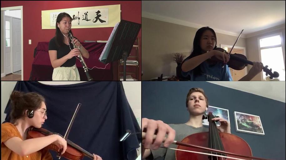 Mozart Oboe Quartet, K. 370/368b, II. Adagio