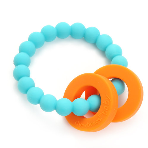 Chewbeads Baby Mulberry Teether - Turquise