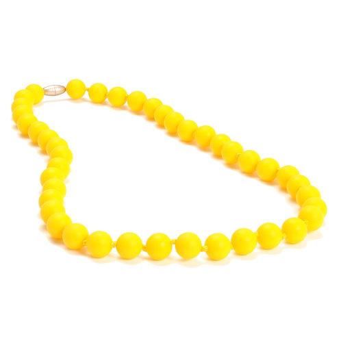 Chewbeads Jane Teething Necklace - Sunshine Yellow