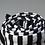 Thumbnail: Cover Me Ponchos, Black/White Stripe