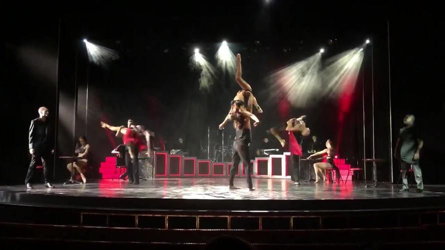 """Roxanne"" rehearsal for Celebrity Cruises"