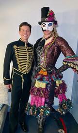 Nicholas Cunningham in Phantom of the Opera on Broadway
