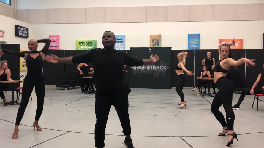 """""""Crazy In Love"""" rehearsal for Celebrity Cruises"""