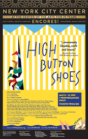 High Button Shoes Poster