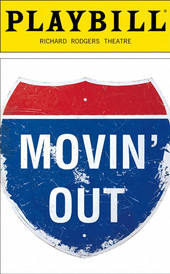 Movin' Out Playbill